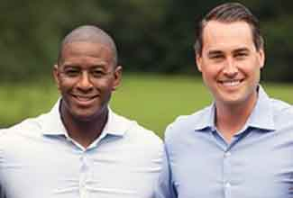 Andrew Gillum and Chris King